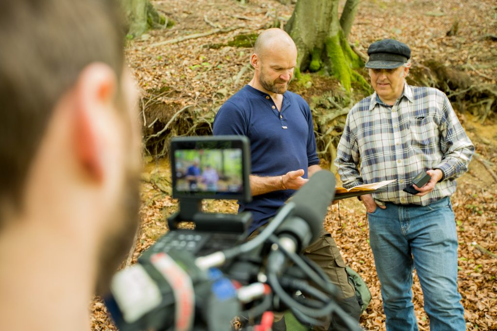 WWII's Great Escapes - Monty Halls Filming